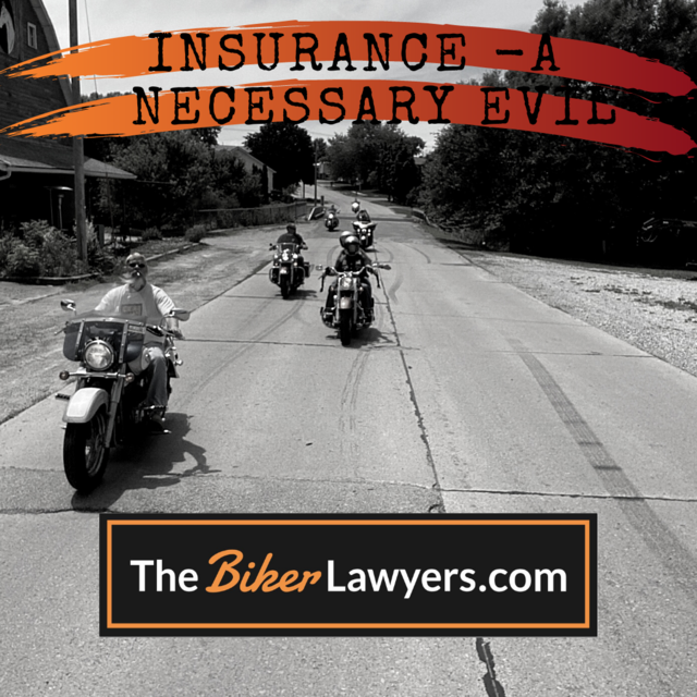 Image of bikers and the Biker Lawyers logo.